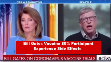 bill gates vaccines 80% participant will experience side effects utube kiwi